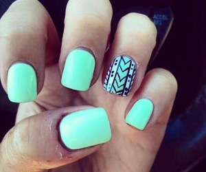 aztec, girly, and mint image