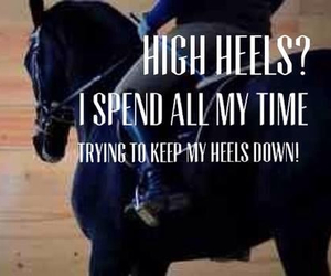 coach, equestrian, and heels image
