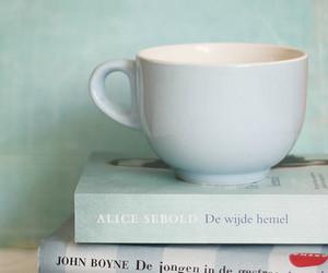 book, tea, and coffee image