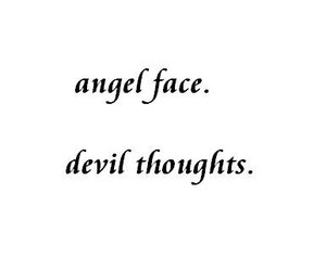 quotes, angel, and Devil image