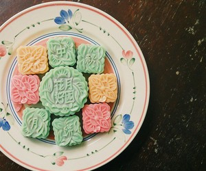 delicious, mooncakes, and tea image