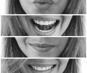 girl, smile, and lips image