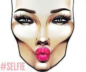 selfie, mac, and make up image