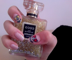 chanel, pale, and nails image