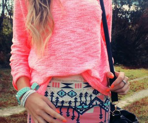 casual, fashion, and printed image