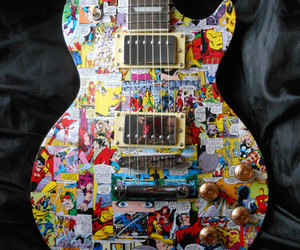guitar, cool, and Marvel image