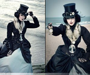 dress, style, and steampunk image