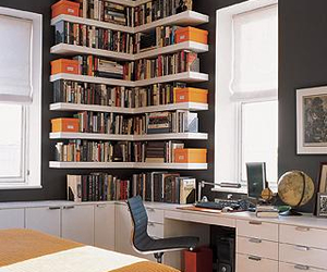 book, room, and decor image