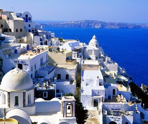 Greece and cyclades islands image