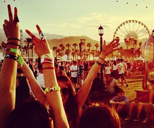music, coachella, and fun image