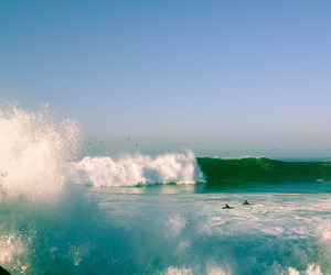 nature, water, and wave image