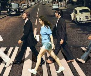 lana del rey, the beatles, and beatles image