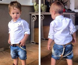 baby, boy, and fashion image