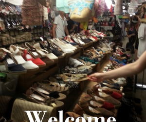 shoes, shopping, and paradis image