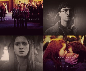 harry potter, love, and ginny weasley image