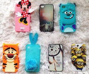 minions, disney, and minnie mouse image