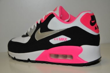 nike air max pink and black