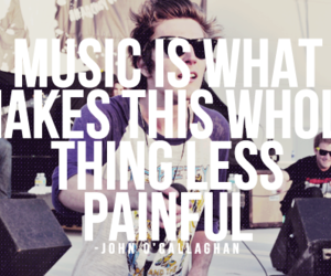 music, quote, and the maine image