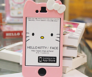 iphone, hello kitty, and case image