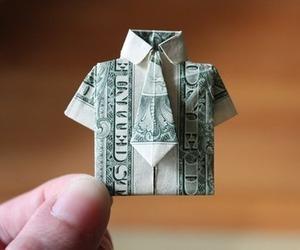 money, shirt, and dollar image