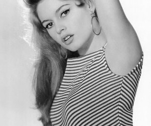 bridget bardot and vintage image