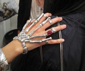 fashion, skeleton, and ring image