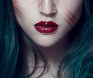 girl, photography, and scars image
