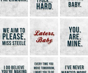 christian grey, fifty shades of grey, and laters baby image