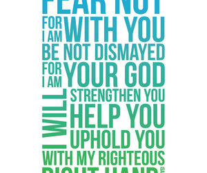 fear not isaiah scripture image