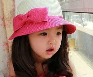 cute, baby girl, and kid image