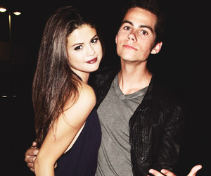 dylan o'brien, selena gomez, and teen wolf image