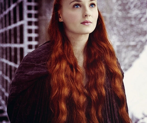 game of thrones, stark, and sophie turner image