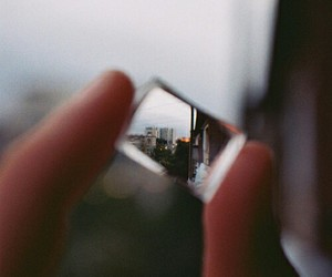 photography, city, and glass image