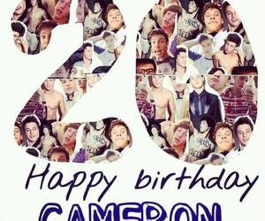 happy birthday and cameron dallas image