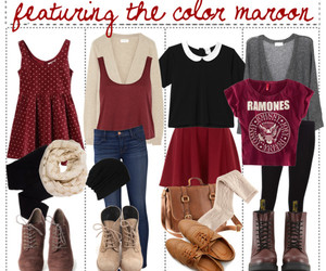 outfit, fall, and cute image