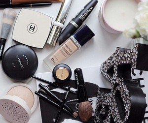 chanel, mac, and dior image