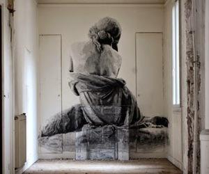 abandoned, art, and graffiti image
