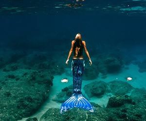 mermaid and water image