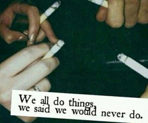 all, and, and cigarette image