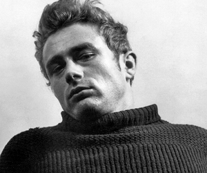 black and white, james dean, and old hollywood image