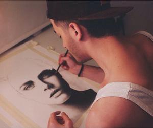 art, guy, and cara image