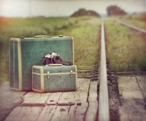 camera, travel, and vintage image