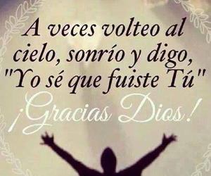 god, frases, and thanks image