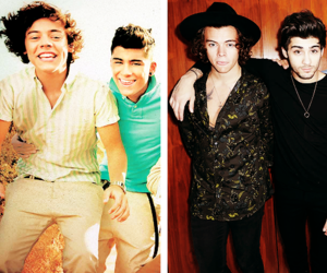 one direction, zayn, and harry image