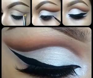 beauty, diy, and eye makeup image