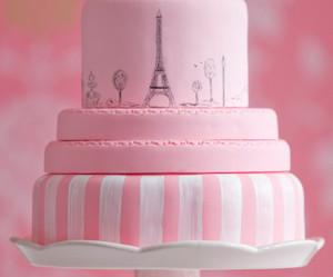 cake and paris image