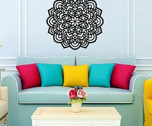wall decal, home decor, and murals image