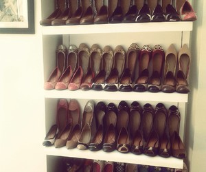 ballerinas, closet, and shoes image