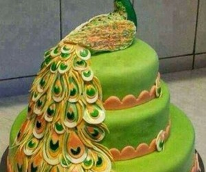 cake, colorful, and sweet image