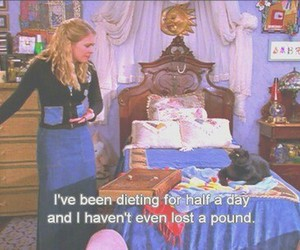 diet, funny, and quotes image
